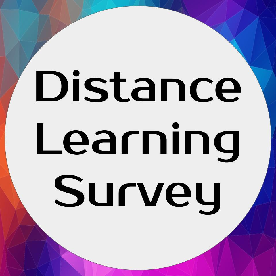 Distance Learning Survey Logo